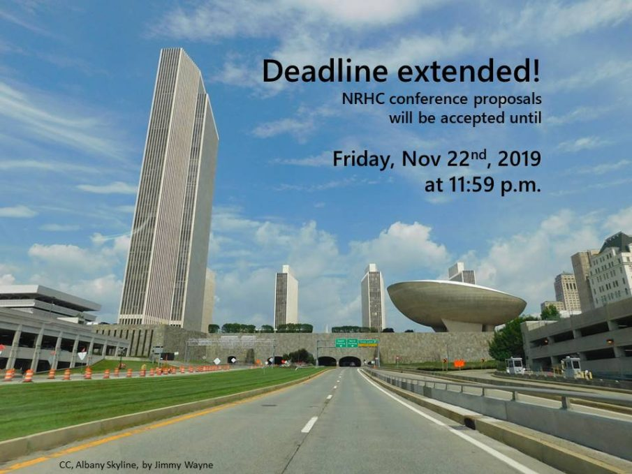 Proposal deadline extended until Nov. 22nd
